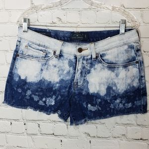 Lucky Brand cut off bleached style shorts